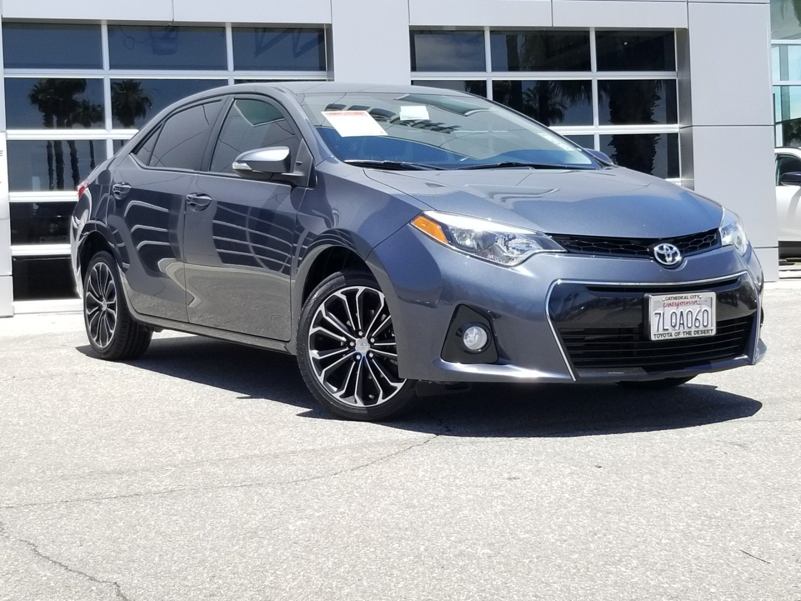 Toyota Corolla S Plus >> Pre Owned 2015 Toyota Corolla S Plus 4dr Car In Cathedral City