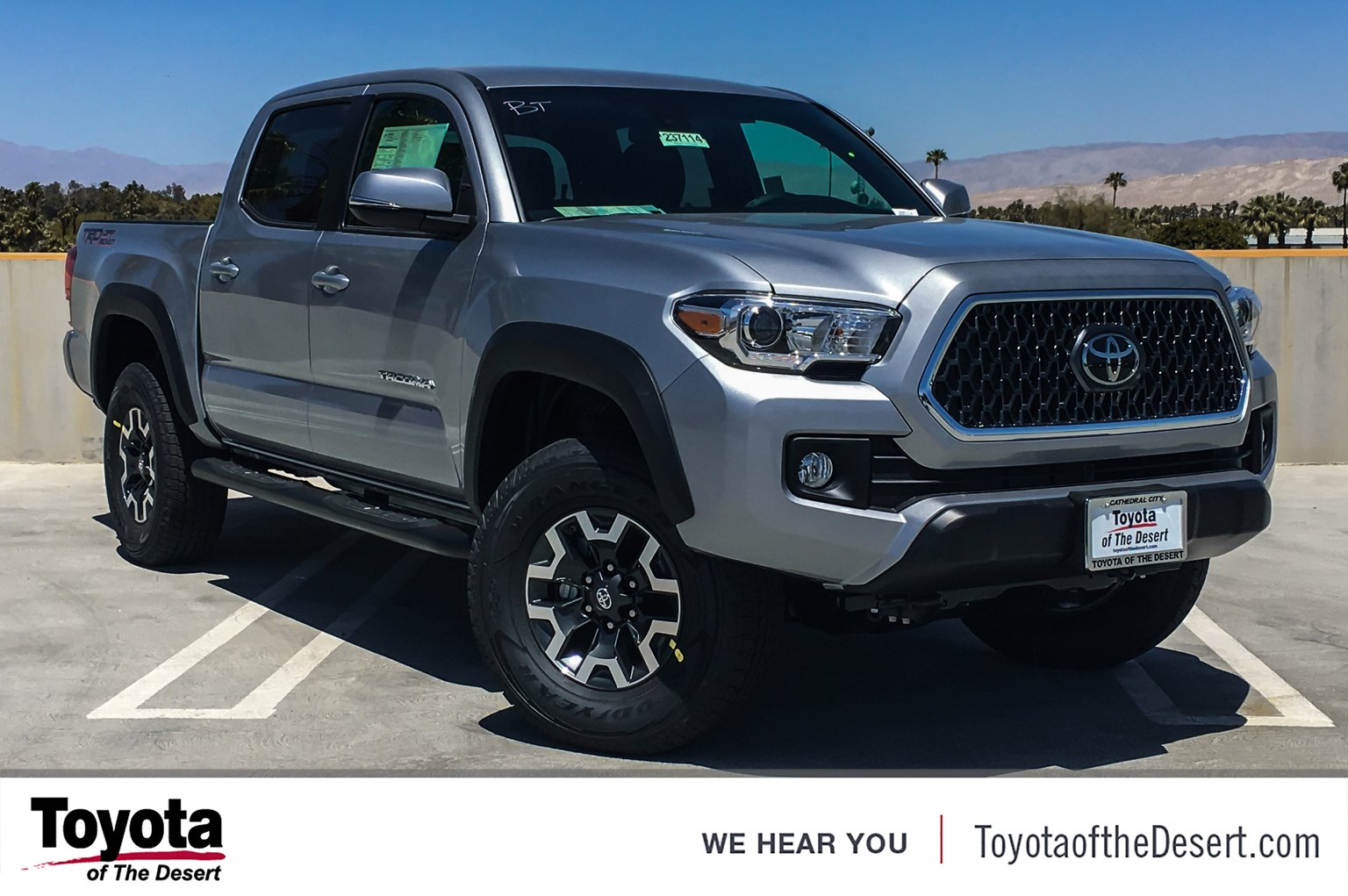 New Toyota Tacoma >> New 2019 Toyota Tacoma 2wd Trd Off Road Double Cab In Cathedral City
