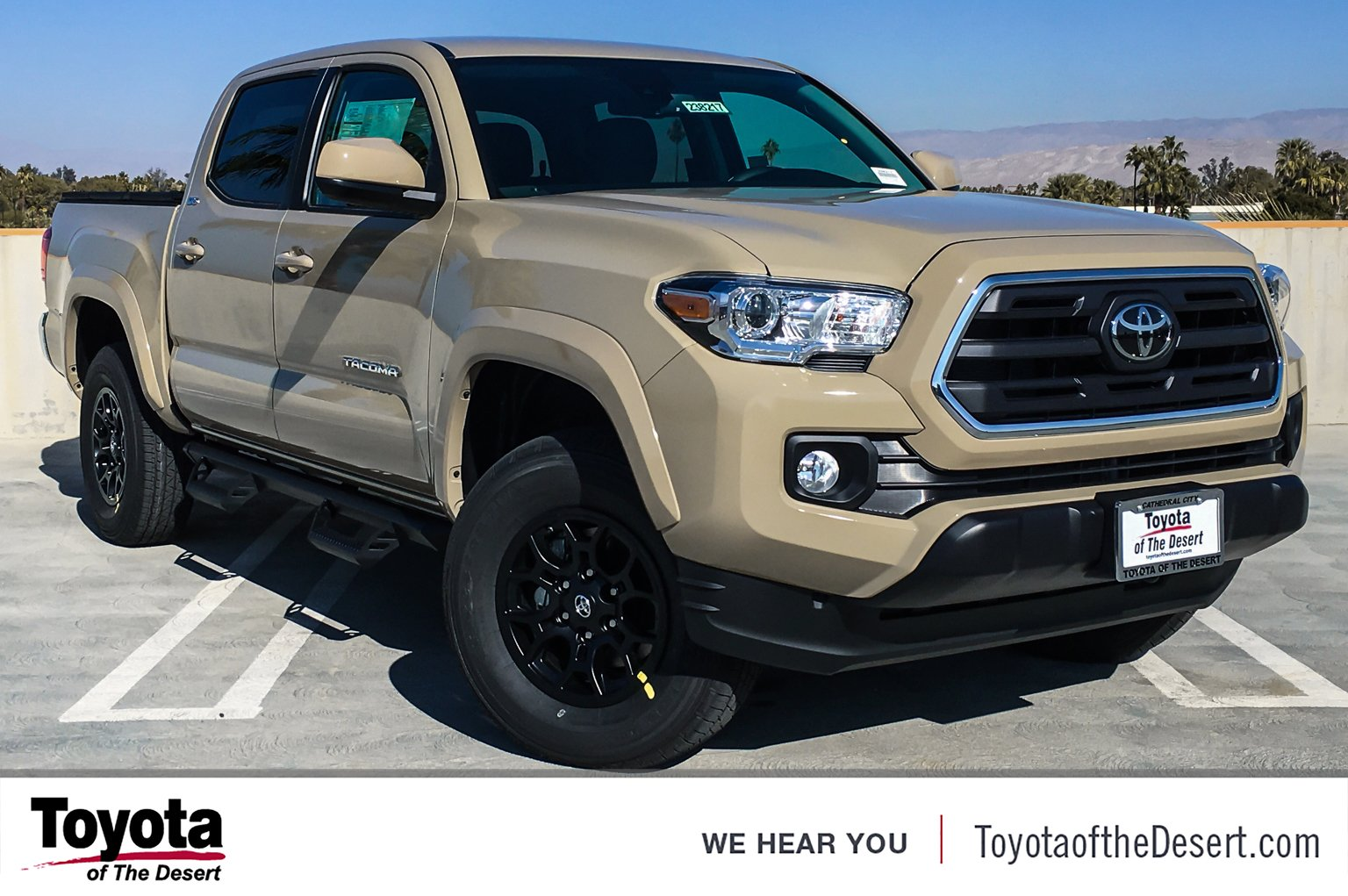 New 2019 Toyota Ta a 2WD SR5 Double Cab in Cathedral City