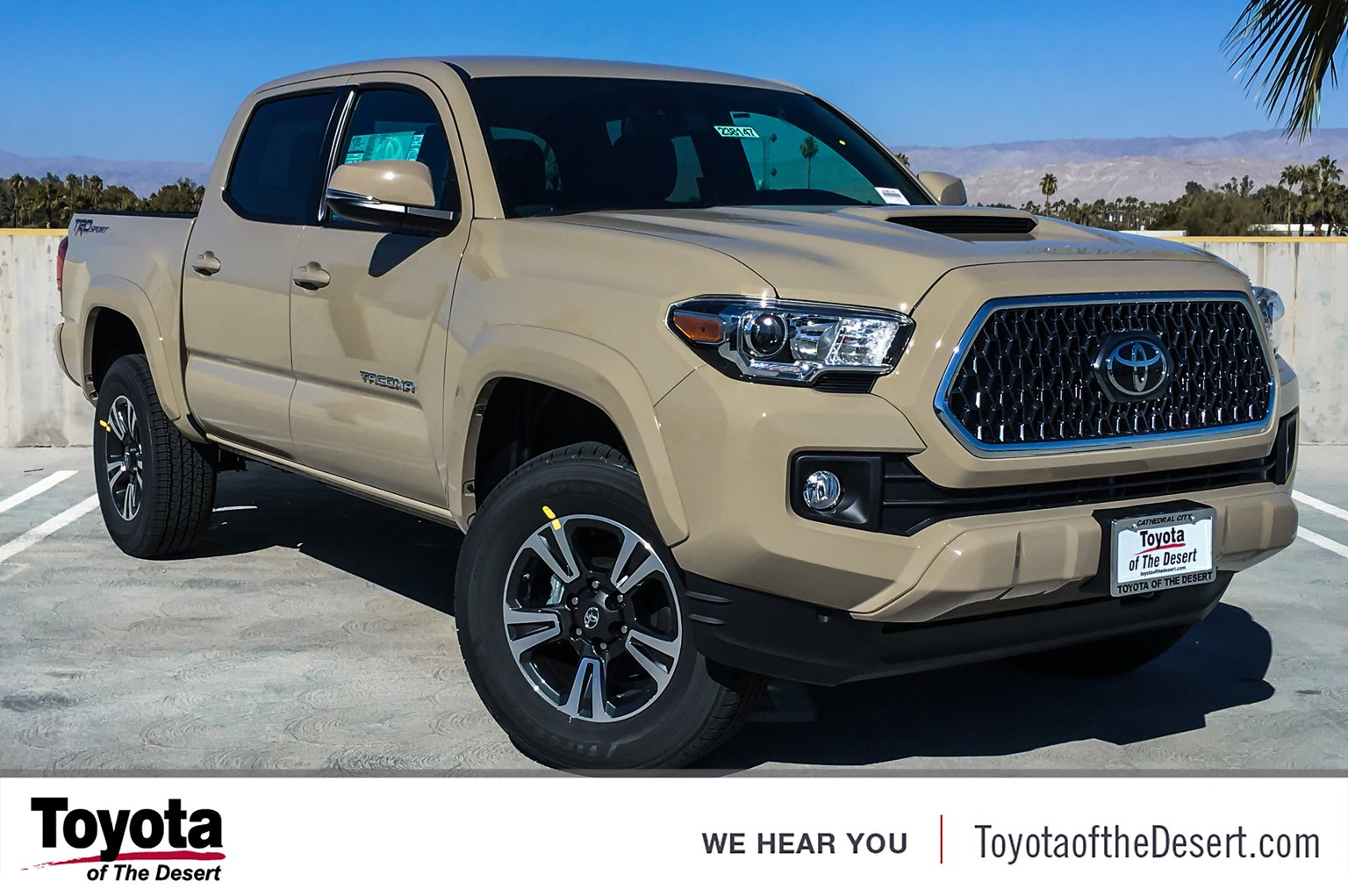 New 2019 Toyota Ta a 2WD TRD Sport Double Cab in Cathedral City