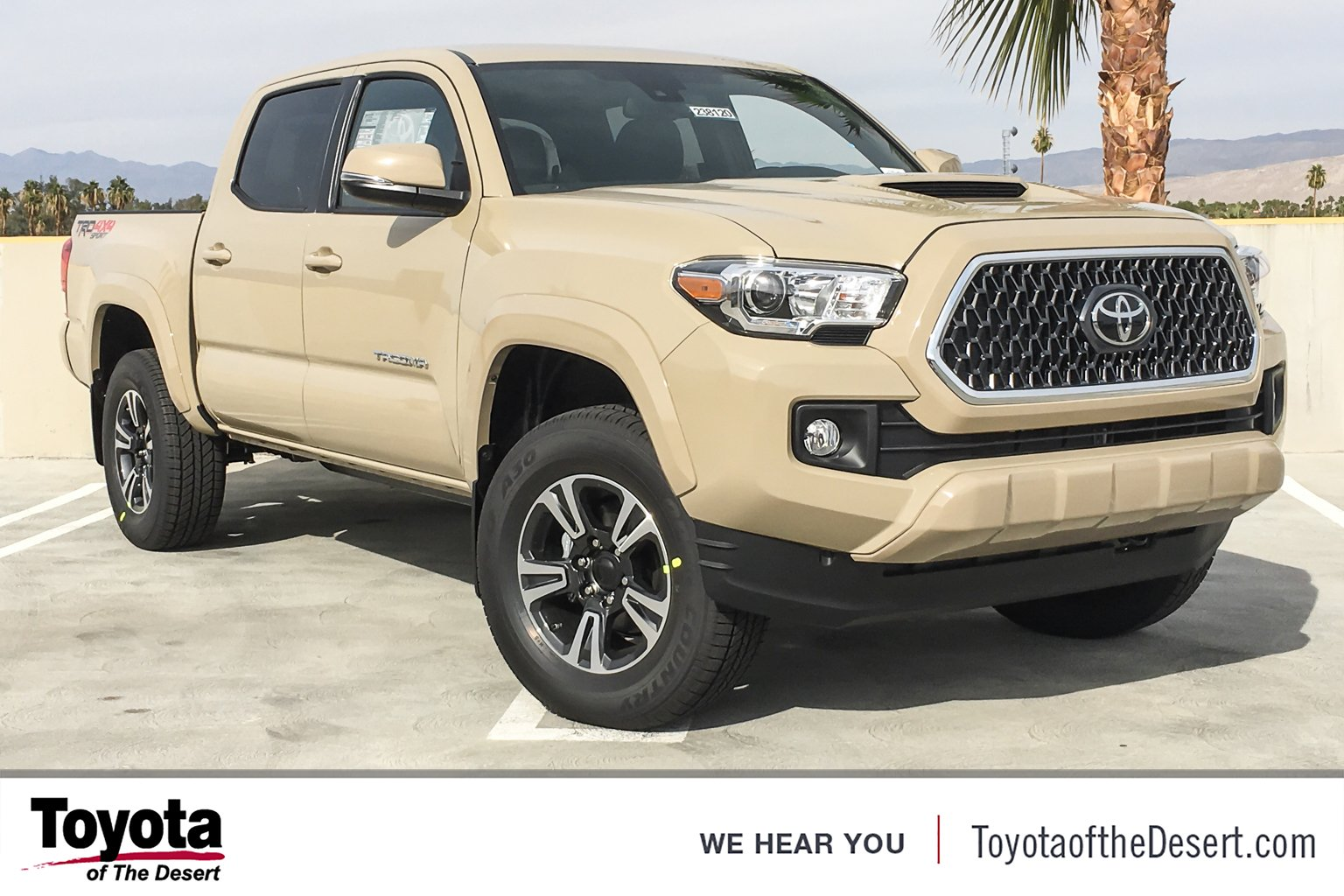 New 2019 Toyota Ta a 4WD TRD Sport Double Cab in Cathedral City