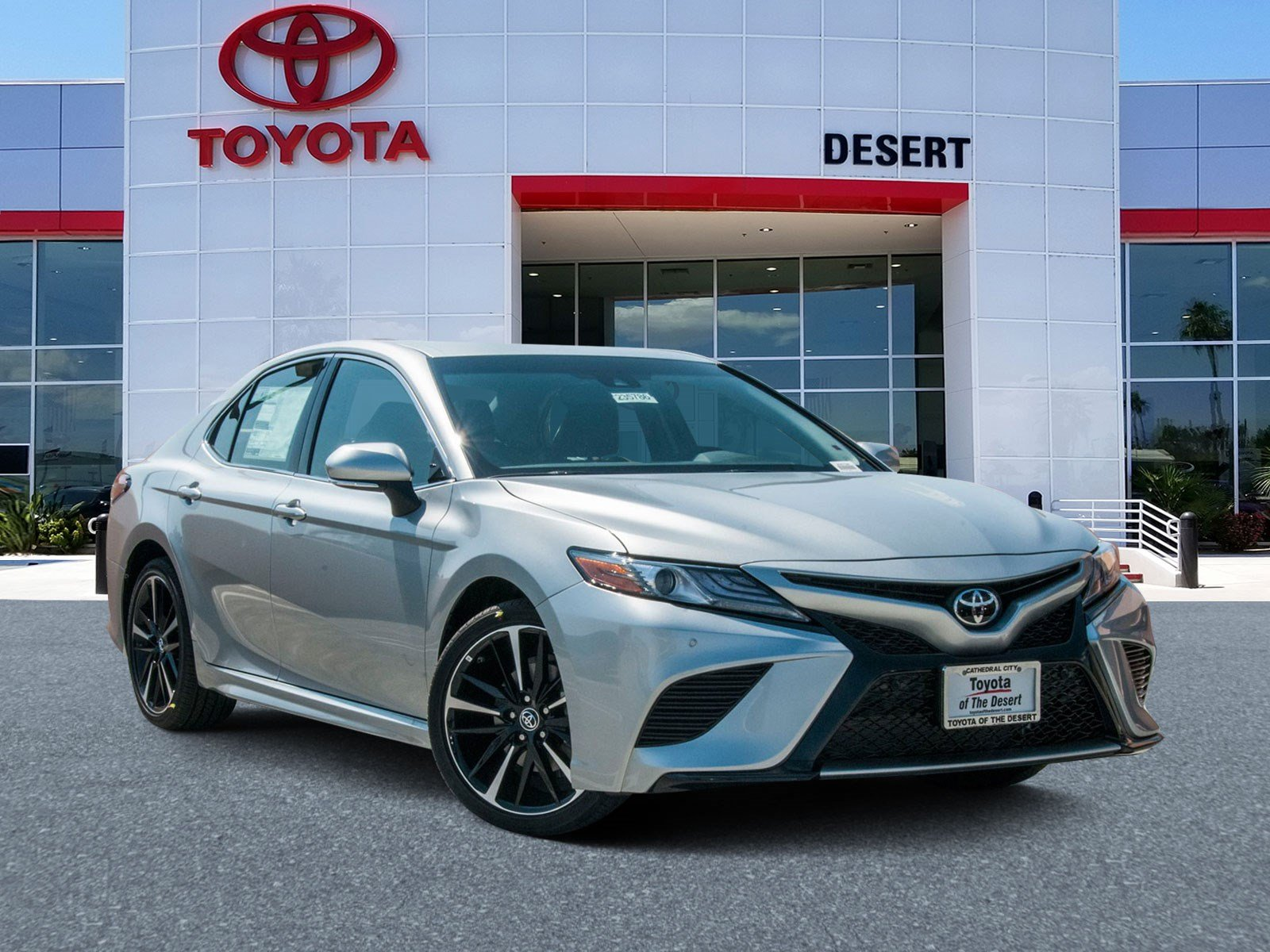 Toyota Of The Desert >> New 2019 Toyota Camry Xse Fwd 4dr Car