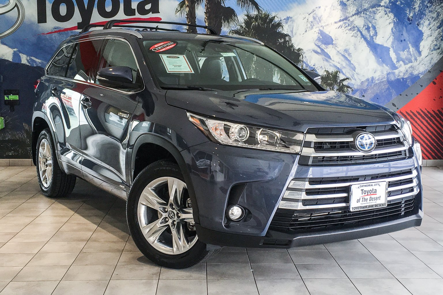 Certified Pre Owned 2018 Toyota Highlander Hybrid Std