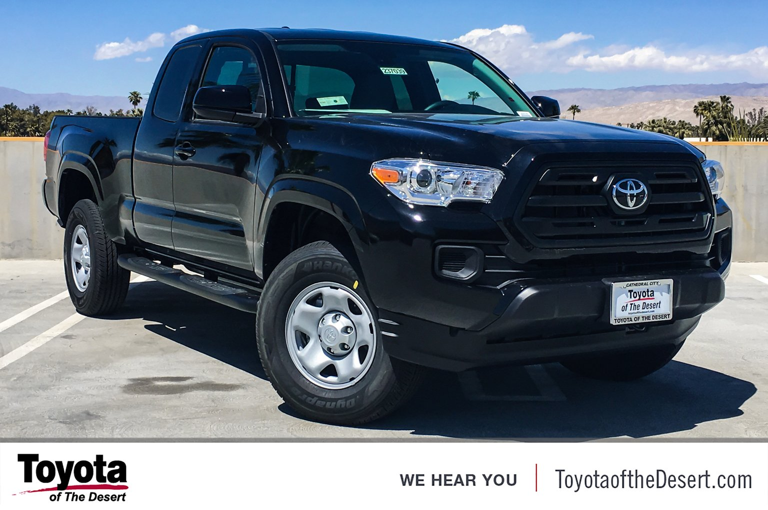 New 2018 Toyota Ta a SR Extended Cab Pickup in Cathedral City