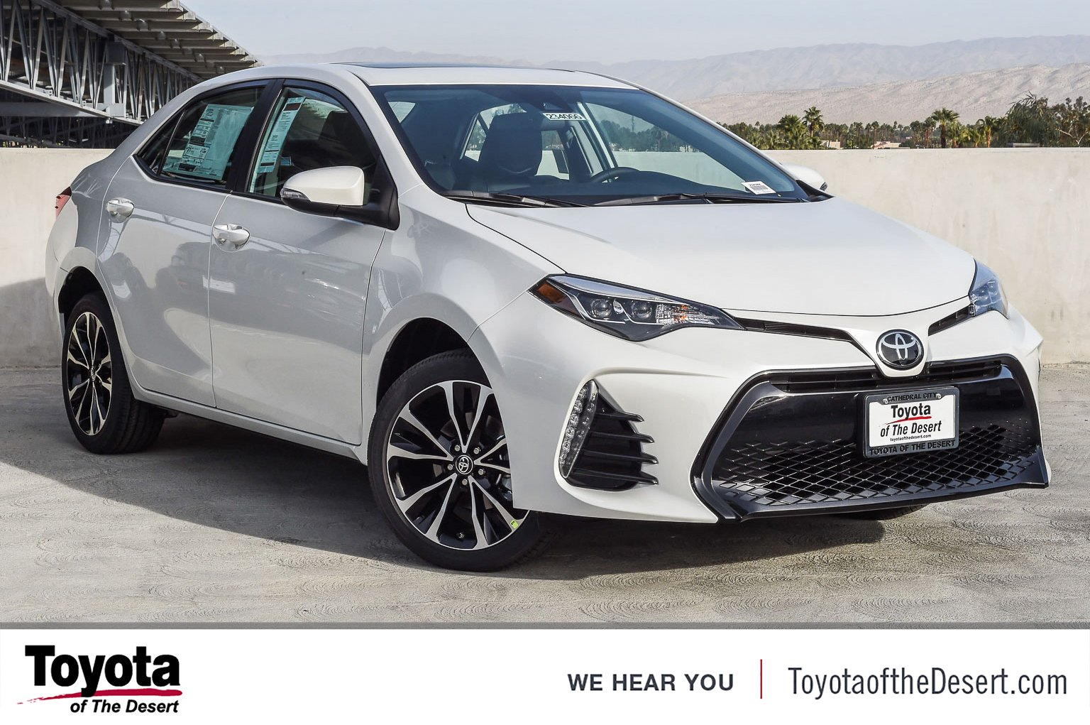 New 2019 Toyota Corolla Xse 4dr Car In Cathedral City 238106