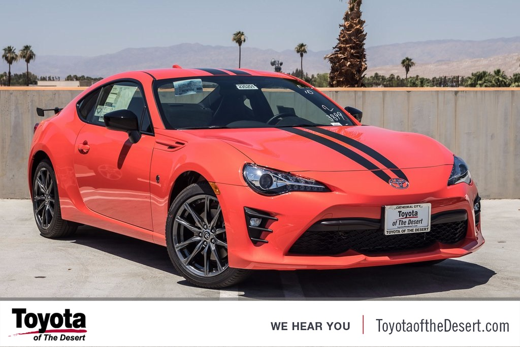 new 2017 toyota 86 860 special edition 2d coupe in cathedral city 235251 toyota of the desert. Black Bedroom Furniture Sets. Home Design Ideas