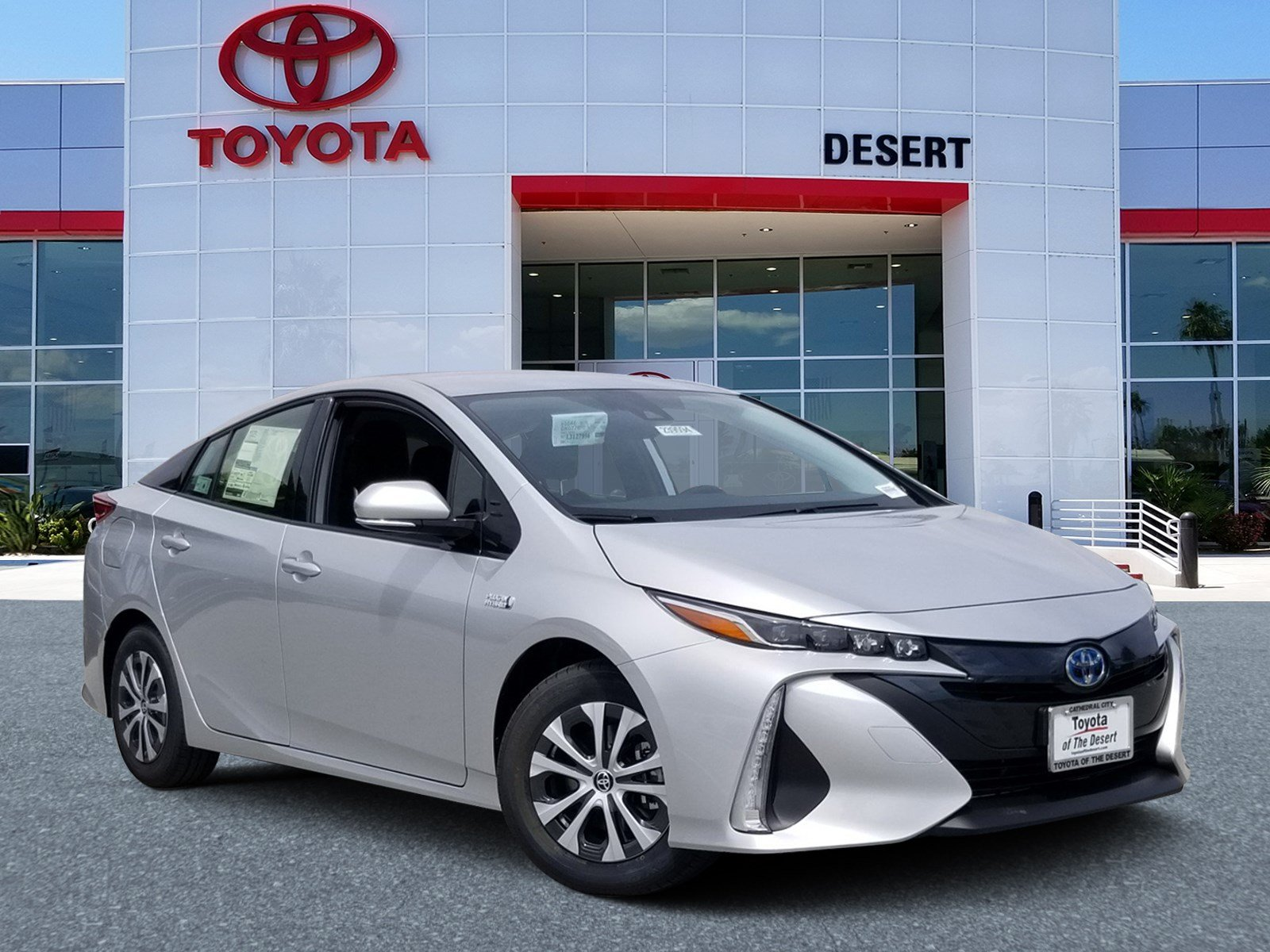 Toyota Of The Desert >> New 2020 Toyota Prius Prime Xle Fwd Hatchback
