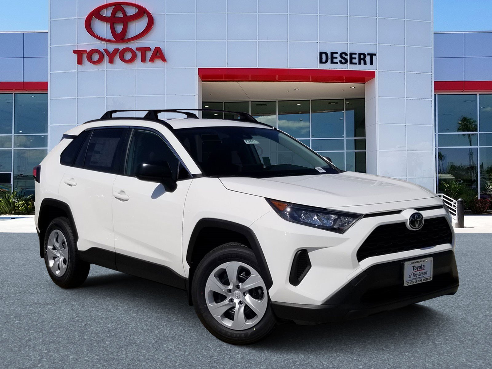 Toyota Of The Desert >> New 2019 Toyota Rav4 Le Rwd Sport Utility