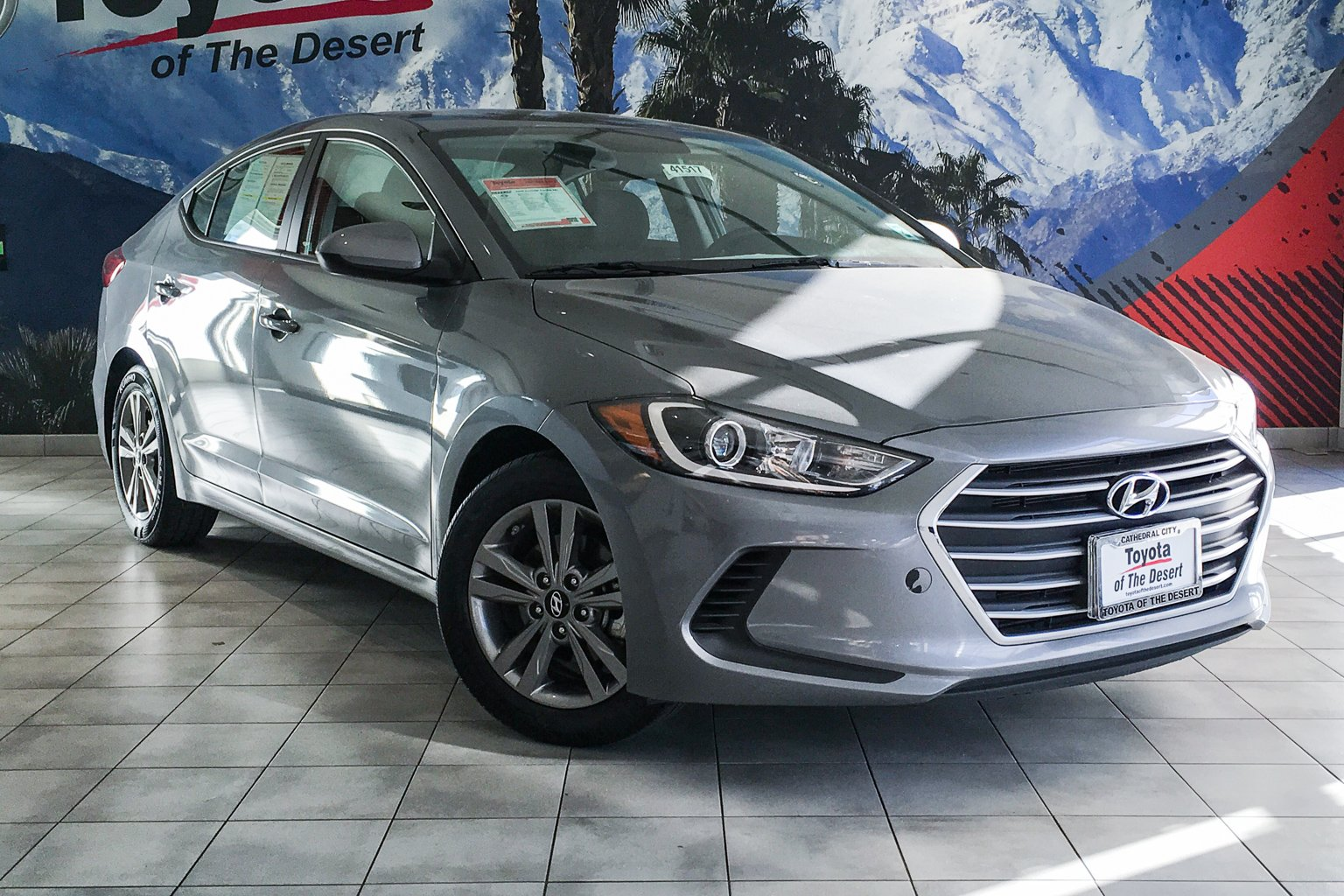 Pre Owned 2018 Hyundai Elantra Sel 4dr Car In Cathedral City 41517r