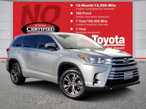 Certified Pre-Owned 2017 Toyota Highlander